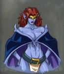 Demona Sketch- Saucy by ZeroMayhem