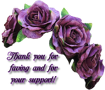 Thanks For Support by AudraMBlackburnsArt