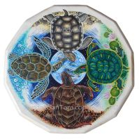 Turtle Island Totem Shield by ssantara