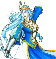 The Frost Archer - Queen by Tomecko