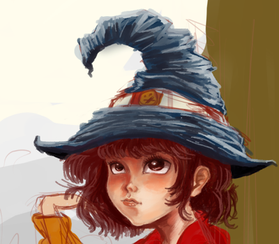 Cute Witch by qhici
