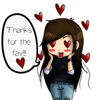 Thanks for the fav!!! by kawaiiwolves