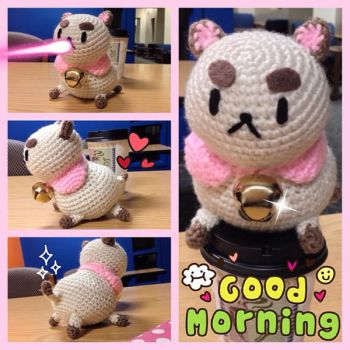 Good Morning Puppycat! by lylfairygirl