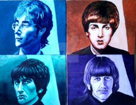 The Beatles by ZombieAshley7