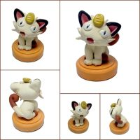 Meowth Miniature Sculpture by LeiliaClay