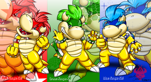 Mario Party: The Koopa Kids by Bowser2Queen