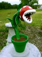 First Go at a Piranha Plant by Kalapusa