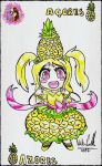 Azores Chibi OC - Hollie Pineapple by NadiaCoelho