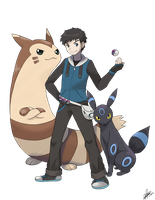 + Pkmn Trainer - Commission for no-static-please + by KyseL