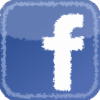 Facebook Fuzzy icon by SlamItIcon