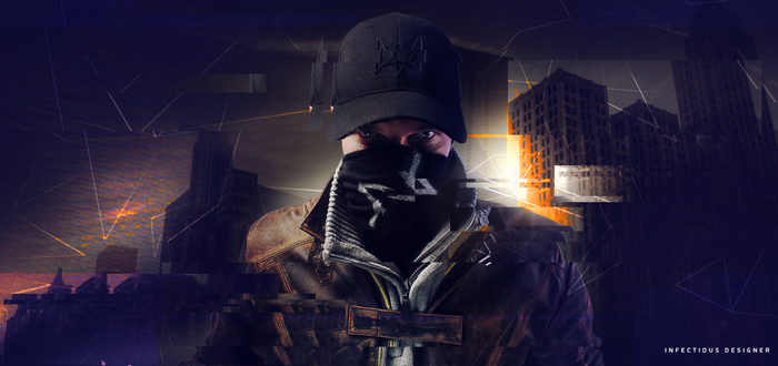 Aiden Pearce - Watch Dogs cosplay - Static Poster by infectiousdesigner