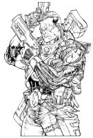 Nathan Summers aka Cable by SpiderGuile