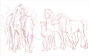 Japanese meeting :WIP: by WolfsMoon1