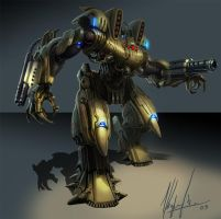 mecha by neisbeis