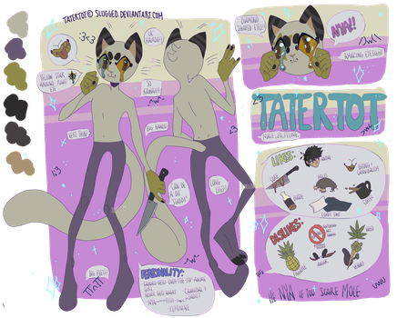 Tatertot Reference Sheet 2017 by Slugged