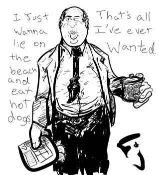 The Office - Kevin Malone by FunkyJupiter