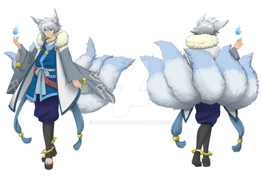 Kino - Full Body (Front and Back) by VAVera2493