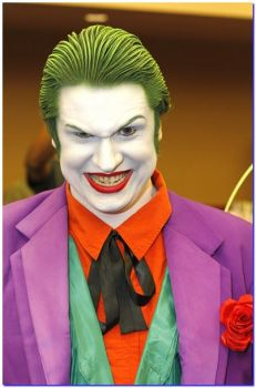 My Joker Cosplay: Akron Comicon 2012 by JackSkelling10