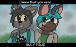 I knew that you were only mine | Commission by Fnafdoodle