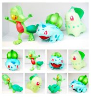 Grass Starters Papercrafts by thepapersmith