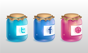 Twitter jar by MadOyster