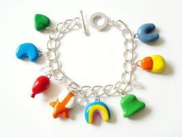 New Lucky Charms Bracelet by LittleMissDelicious
