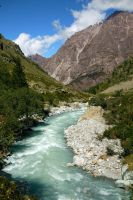 River and Mountain by annamarcella24