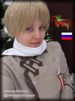 Russia Cosplay again by CrimzonEchidna