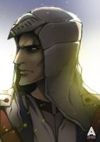 Assassin's Creed 3 Portrait by asadfarook