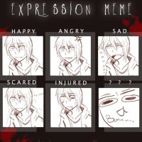 Expression Meme by CrazilyJo