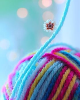 Coloured Wool by Mars-Hill