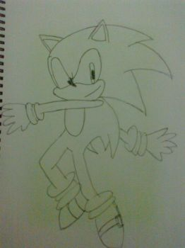 Sonic From Sonic Generations by NoOneKnowsThisGirl