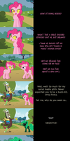 Pinkie Pie Says Goodnight: Negativity by MLP-Silver-Quill