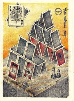 Castle Of Cards by Laura-Pietrusel