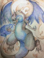 Mega Charizard X by TheKiwiSlayer