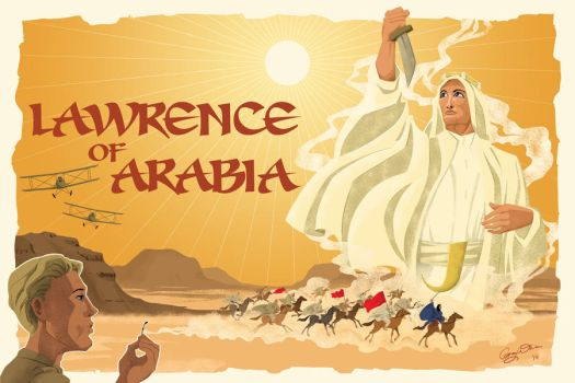 Lawrence of Arabia by tightywhite