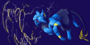 Thunder Fang by Endivinity