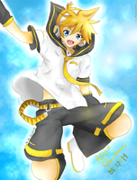 Jumping to the sky (1) by TheAwesomeAki-kun