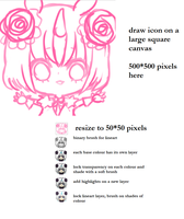 Icon Tutorial (updated info) by onisuu