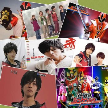 Shinken Red collage by amay3190