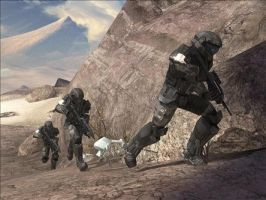 HALO 3 UNSC HELLJUMPERS by victortky