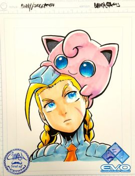 EVO2015 - Cammy and Jigglypuff by theCHAMBA