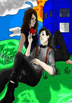 Be My Valentine? I Love You No Matter What Happens by xWhoviansUnitedx