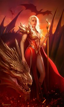 Fire and Blood by Deligaris
