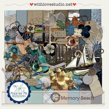 Memory Beach Kit by ravynfaire