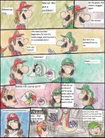 Why Milotic is in N's castle in smash bros 3DS by kingofthedededes73