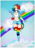 Rainbow Dash by IllumAdora