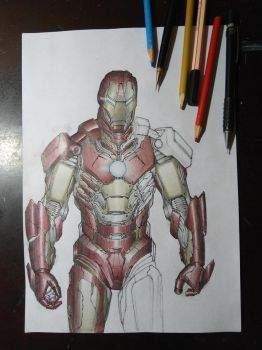 Iron Man color by eltonramalho