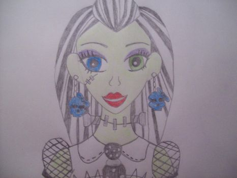 Monster High: Frankie Stein by Jackie-Hagasowa