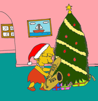 Lisa and Christmas by dragonlorest